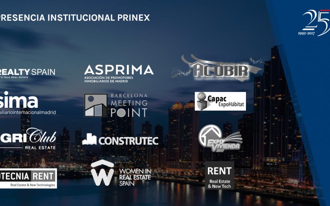 Prinex, presente en los eventos inmobiliarios más importantes de 2017
