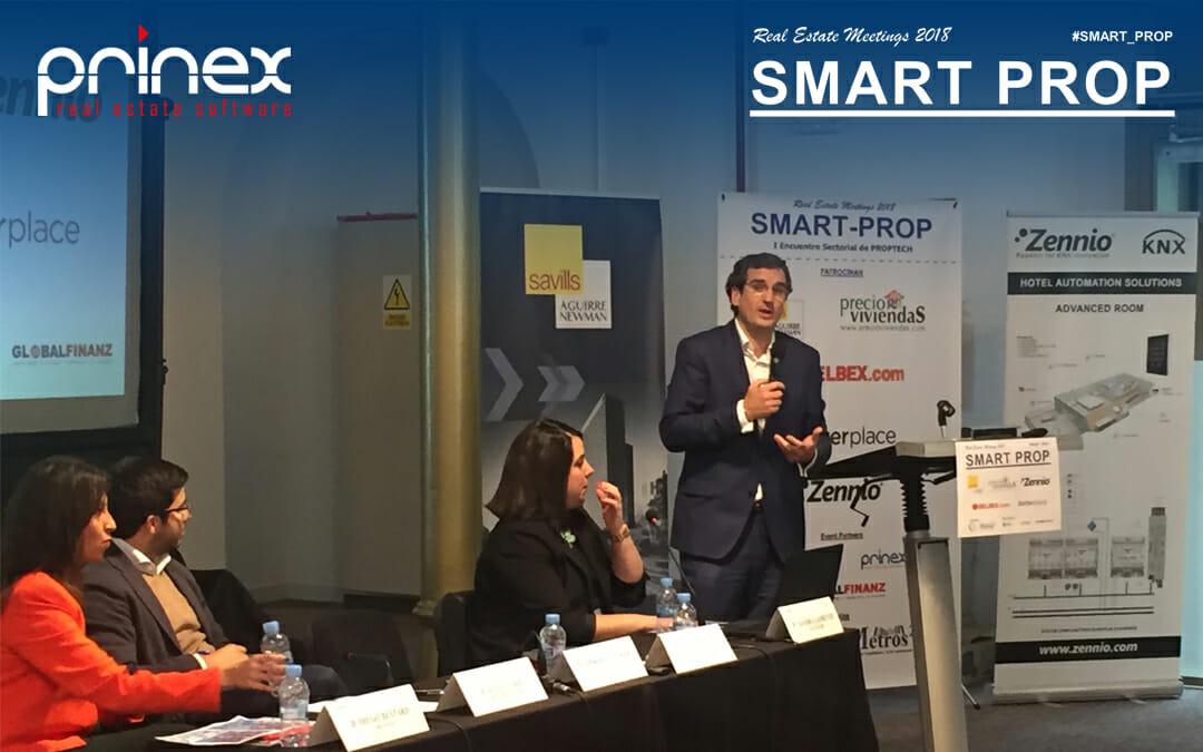 Prinex, participa en el encuentro sobre Proptech #SMART_PROP 2018