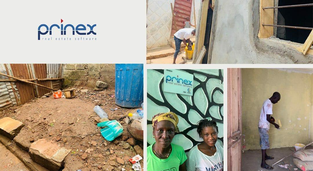¿Cómo avanza el proyecto de reconstrucción del poblado Angola Town donde Prinex colabora con el Círculo Inmobiliario?