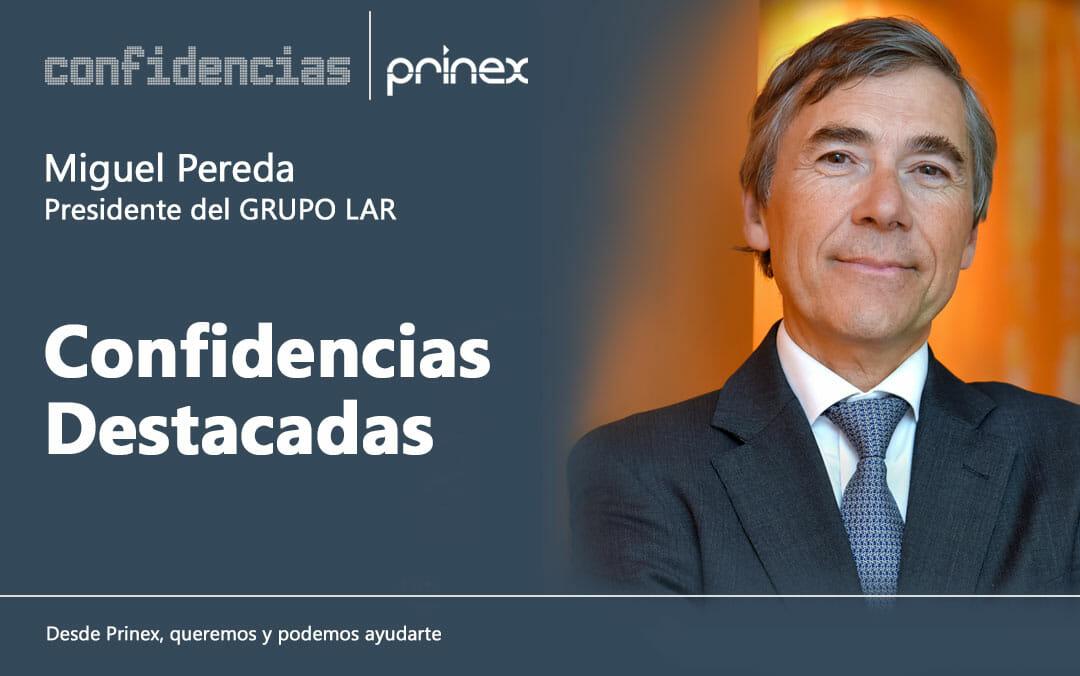 """""""La tendencia de la vivienda en alquiler es de crecimiento"""", Miguel Pereda en Confidencias Prinex"""