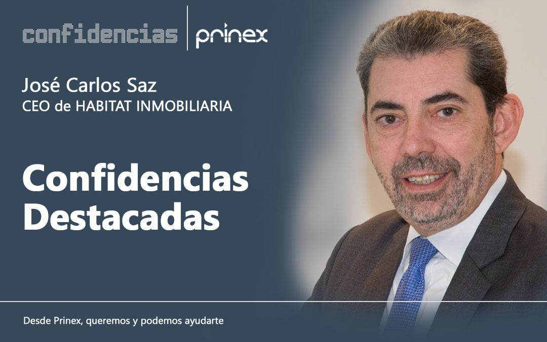 José Carlos Saz y el perfil del comprador de vivienda, en Confidencias Prinex