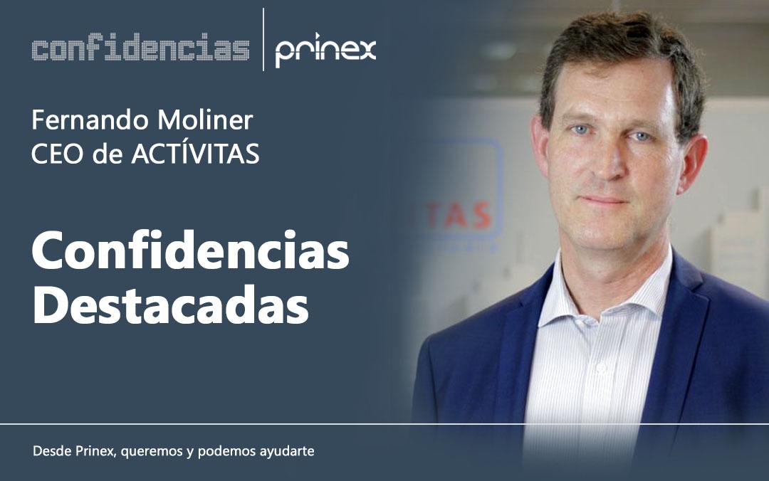 Fernando Moliner y la evolución del sector inmobiliario, en Confidencias Prinex